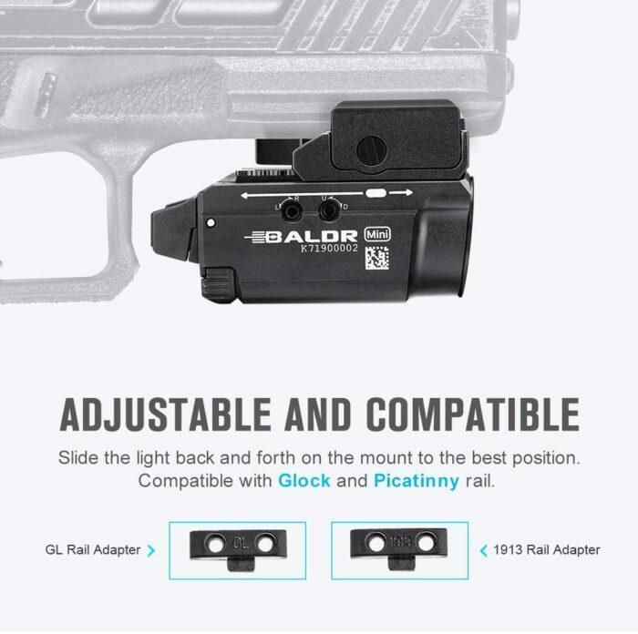 adjustable on pistol